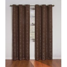 Meridian Grommet Window Curtain Single Panel