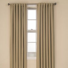 Tavern BackTab  Rod Pocket Window Curtain Single Panel