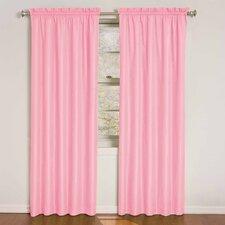 Kids Wave Rod Pocket Window Curtain Panel