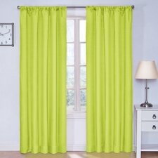 Kids Kendall Rod Pocket Window Curtain Single Panel