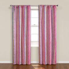 Kids Kendall Stripe Rod Pocket Curtain Panel