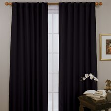 <strong>Eclipse Curtains</strong> Fresno Rod Pocket Window Curtain Single Panel