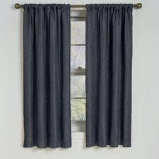 <strong>Eclipse Curtains</strong> Milano  Rod Pocket Window Curtain Single Panel