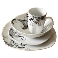16 Pieces Mystique Dinner Set