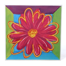 Vivid Daisy Square II Wall Art