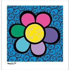 Flower Power II Canvas Art