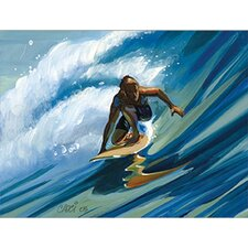 Rail Grab Surfer Wall Art