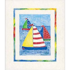 <strong>Art 4 Kids</strong> Sail Away Wall Art