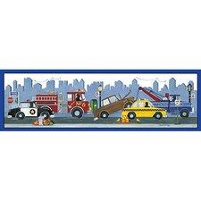 City Vehicles Canvas Art