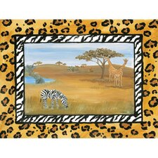 African Safari Canvas Art