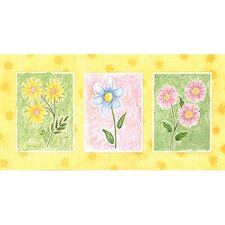 Sunshine Flowers Wall Art