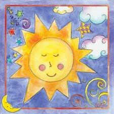 Twinkle Sun Canvas Art