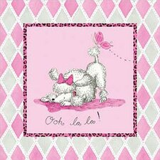 Ooh La La Poodle Wall Art