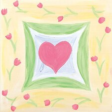 Spring Heart I Canvas Art