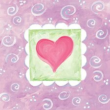 Spring Heart III Wall Art