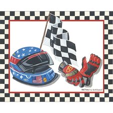 Race Car Gear I Wall Art