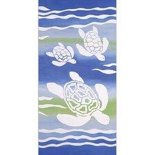 Turtle Swim Canvas Art