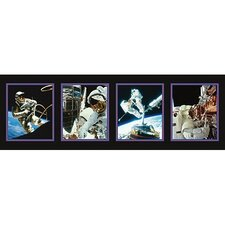 <strong>Art 4 Kids</strong> Space Walk Canvas Wrap Wall Art