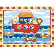 Noah s Animals Canvas Wrap Wall Art