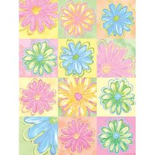 <strong>Art 4 Kids</strong> Daisy Patches Wall Art