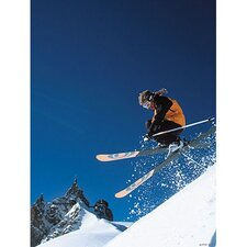 Ski Jump Canvas Art