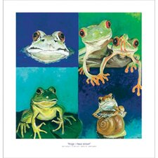 Frogs I Have Known Canvas Art