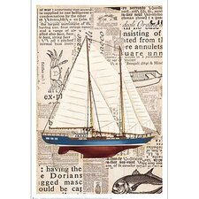 Nautical Motif I Canvas Art