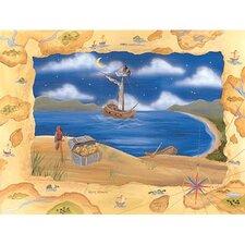 Treasure Island Canvas Art