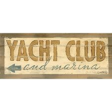 Yacht Club Wall Art