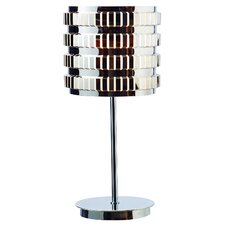 "Axis 25"" H Table Lamp with Drum Shade"