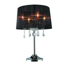 "Sheer 26"" H Table Lamp with Empire Shade"