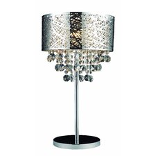 "Helix 24"" H Table Lamp with Drum Shade"