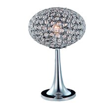 "Eliptic 16"" H Table Lamp with Oval Shade"