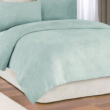 Solid Micro Raschel Sheet Set