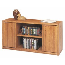 Contemporary Medium Oak Storage Credenza