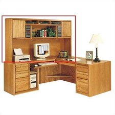 "Contemporary 42.75"" H x 78.5"" W Desk Hutch"