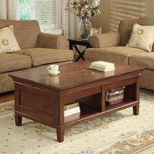 Bradley Laptop Coffee Table with Lift and Slide Top