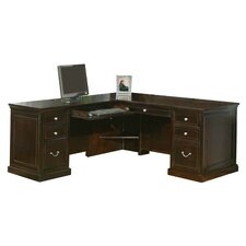 <strong>Martin Home Furnishings</strong> Fulton Executive Desk