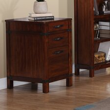 Point Reyes 3 Drawer Wood File Cabinet