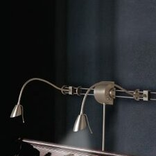 Adjustable Reading Over the Bed Gooseneck Wall Lamp