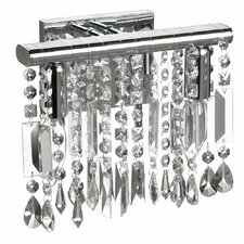 Bohemiam Crystal 2 Light Wall Sconce