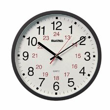 "Magnus 12"" Office Wall Clock"