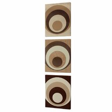 <strong>Dainolite</strong> Circa Design Wall Art (Set of 3)