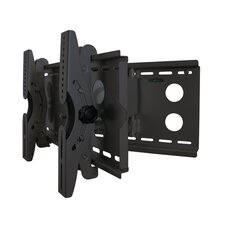 "Full Movement Wall Mount for 23""-37"" LCD TV in Black"