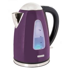 360 Rapid Boil 1.7 Litre Cordless Kettle in Plum Steel