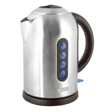 360 Rapid Boil 1.7 Litre Cordless Kettle in Brushed Stainless Steel