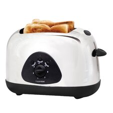 2 Slice Toaster in Polished Stainless Steel