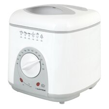 1 Litre Compact Deep Fryer in White