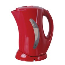 1.7 Litre Cordless Kettle with Hinged Lid in Red
