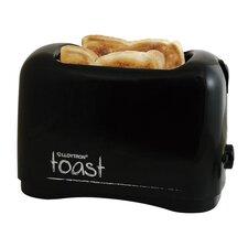 2 Slice 'Toast' Toaster in Black